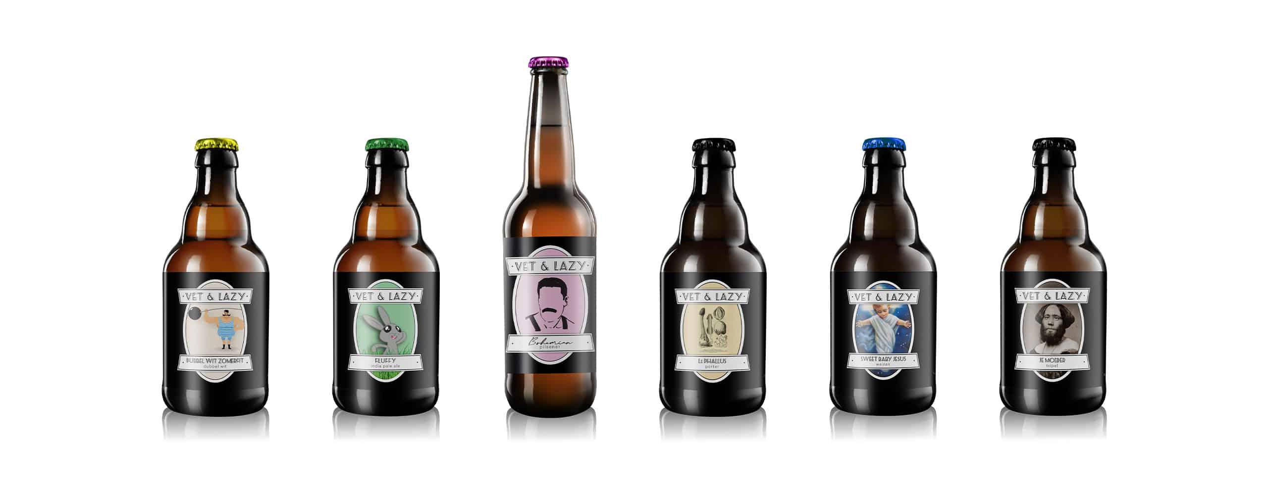 Vet en Lazy Brouwerij Rotterdam Urban Brewery Stadsbrouwerij lineup